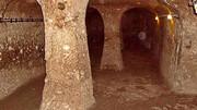 کشف شهر زیرزمینی در عمق تونل 80 متری + عکس