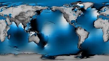 ناسا جزر و مد زیر سطح اقیانوس ها را رصد می کند /فیلم