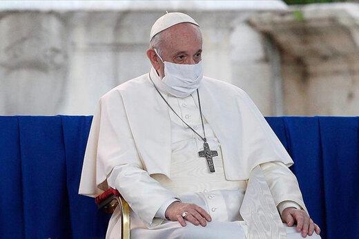 پاپ،خواستار تامین واکسن برای کشورهای فقیرتر جهان شد