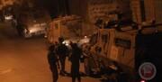 تظاهرات شبانه ساکنان غزه مورد حمله صهیونیستها قرار گرفت