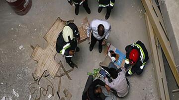 تخریب مرگبار ساختمان جان کارگر را گرفت