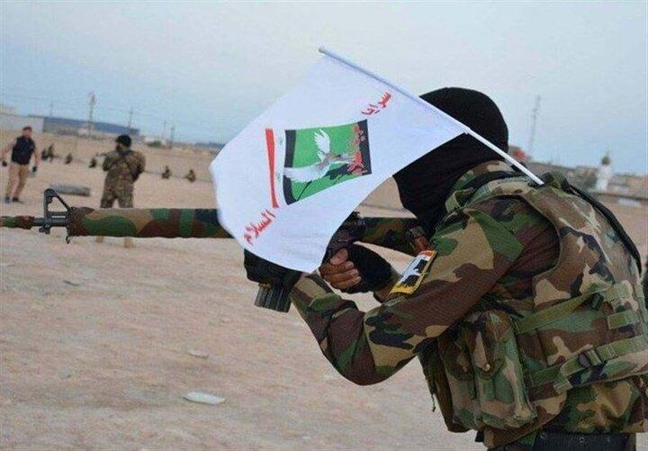 """حمله تروریستی داعش به نیروهای""""سرایا السلام""""+تصویر"""