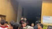 درگیری در اتاق ضددوپینگ پس از بازی پرسپولیس _ سپاهان