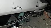 واژگونی سواری جک در بزرگراه باقری / تلفات جانی نداشت