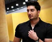 فیگور جذاب فرزاد فرزین در باشگاه بدنسازی + عکس