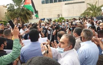 تظاهرات مردم ترکیه و اردن در اعتراض به حملات صهیونیست ها