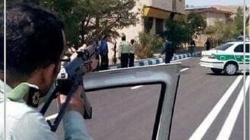 گلوله پلیس جان مرد حشیشی را گرفت