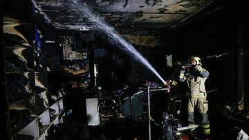 آتش سوزی مهیب سیرک بزرگ شیراز