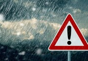 رگبار پراکنده، رعد و برق و وزش باد شدید در برخی مناطق کشور