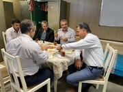 بازدید شهردار پردیس از مرکز آتشنشانی فاز ۷