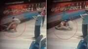 زن مسافر توسط مامور قطار نجات یافت