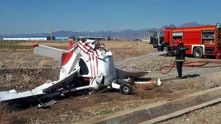 سقوط هواپیما مرگ آفرین شد + عکس