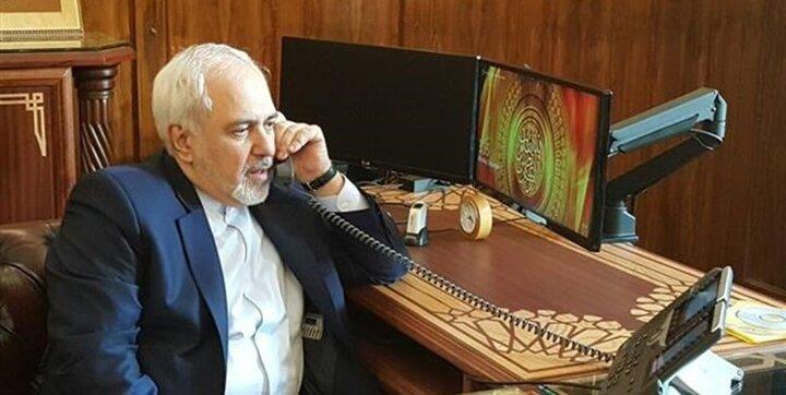رایزنی تلفنی ظریف با همتای الجزایری خود