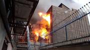 آتش سوزی مرگبار کام معتادان را به مرگ کشاند