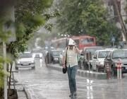 رگبارهای پراکنده در اغلب نقاط کشور ادامه دارد