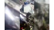 تصادف مرگبار خودرو با بار میوه + جزئیات