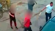 دستگیری سارق فروشگاه قمه به دست + فیلم