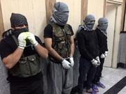 دستگیری 4 سارق مسلح با شمایل داعشی ها + عکس