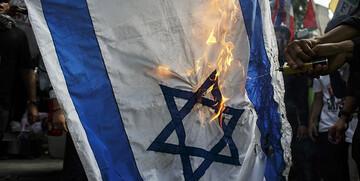 برگزاری راهپیمایی دربرلین برای حمایت از فلسطین