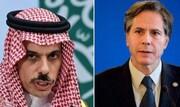 رایزنی تلفنی وزیر خارجه آمریکا با همتای سعودی خود