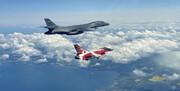 پرواز هواپیماهای جنگی ناتو و تمرین حمله هوایی به روسیه و بلاروس