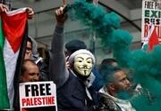 حمایت مردم اروپا از فلسطین