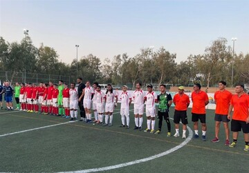 برتری تیم فوتبال ایران مقابل روسیه