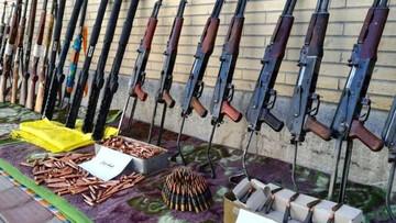کشف خانه ای مملو از اسلحه در تهران