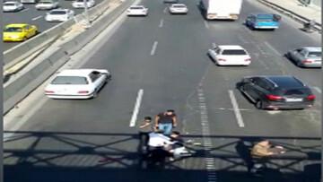 خودرو پژو 3 عابر را زیر کرد / در تهران رخ داد