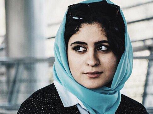 حجاب متفاوت فاطیما بهارمست با نگاهی جذاب + عکس