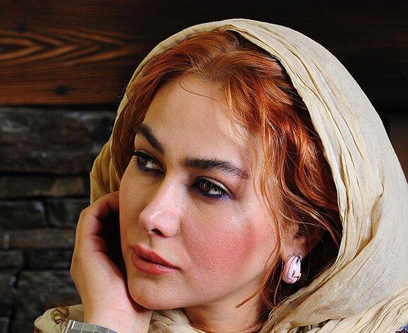 فیگور خاص آناهیتا نعمتی با لباس محلی در کنار برکه + عکس