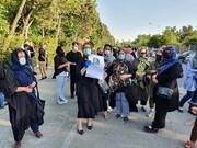 تجمع دوستان و دانشجویان بابک خرمدین در اکباتان + فیلم و عکس