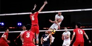 شکست سنگین والیبال ایران مقابل ژاپن /گزارش تصویری