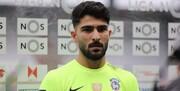 عابدزاده باارزشترین بازیکن آزاد لیگ پرتغال +عکس
