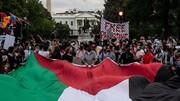 تظاهرات میلیونی ضداسرائیلی در پایتخت آمریکا