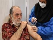 واکسیناسیون هنرمندان پیشکسوت امروز انجام شد/ به روایت تصویر