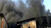 کارخانه فوم سازی پردیس در آتشی مهیب خاکستر شد + عکس