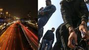 قدرت نمایی ها با شمشیر در تهران به پایان رسید / 4 شرور دستگیر شدند + عکس
