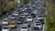 آخرین وضعیت ترافیکی معابر تهران امروز ۱۲ خرداد ۱۴۰۰