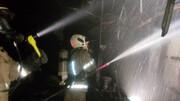 آتش سوزی مهیب در بیمارستان یوسف آباد / جان بیماران در خطر افتاد + عکس ها