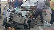۳ کشته و ۳ مصدوم با حال وخیم در تصادف دو سواری / چیزی از پژو باقی نماند