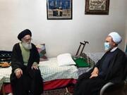 رئیس حوزه های علمیه کشور با نماینده ولی فقیه در ورامین دیدار و گفتگو کرد