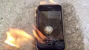 انفجار وحشتناک گوشی همراه + فیلم