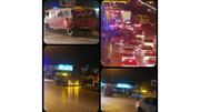 تصادف هولناک در مشهد / دیشب اتفاق افتاد + عکس