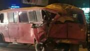 جزئیات تصادف خونین اتوبوس و مینی بوس در مشهد / دیشب اتفاق افتاد