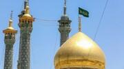 فضاسازی حرم حضرت معصومه (س) به مناسبت دهه کرامت