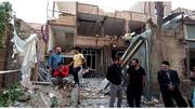 ویرانی ۱۱ ساختمان  در پی انفجار هولناک در تبریز + جزئیات