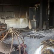 آخرین جزئیات آتش سوزی مشکوک در رشت / مرد زنده زنده سوخت + فیلم