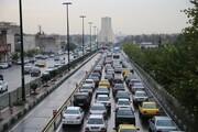 وضعیت ترافیکی معابر پایتخت