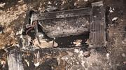 حریق کولر گازی کل خانه را نابود کرد / در مشهد اتفاق افتاد
